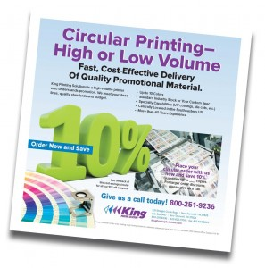 Advertising Circular and Insert Printing - King Printing Solutions